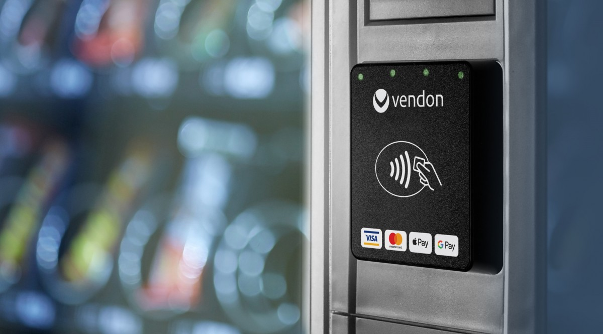 Vendon launches an affordable & easy-to-integrate payment solution for Vending and Coffee machines